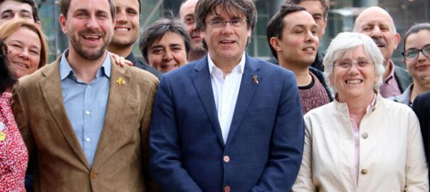 Puigdemont, Comín y Ponsatí darán un mitín en Perpiñán