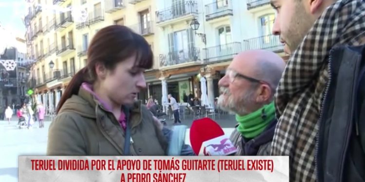 [Vídeo] Una integrante de Vox Teruel a un fundador de Teruel Existe por TV: «Si hay que fusilarte, lo haremos»