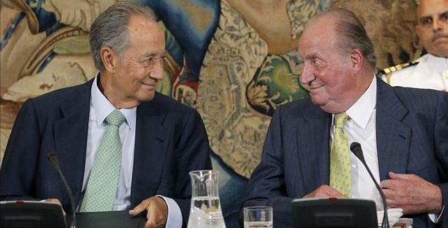 El rey Juan Carlos I nombró marqués a Villar Mir después de cobrar 4,2 millones de OHL